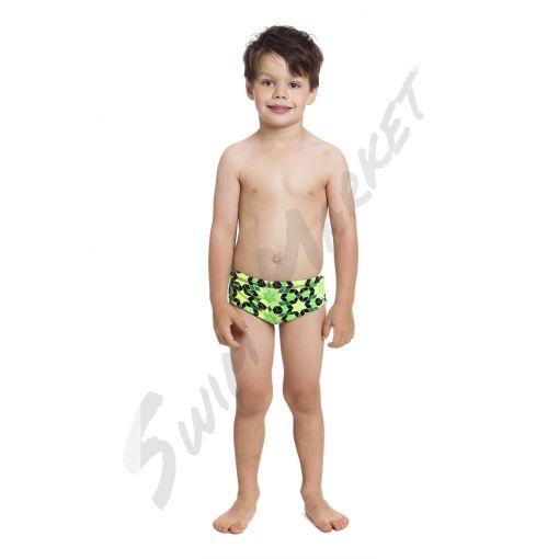 Chlapecké plavky Funky Trunks Crystal Gold -Toddler